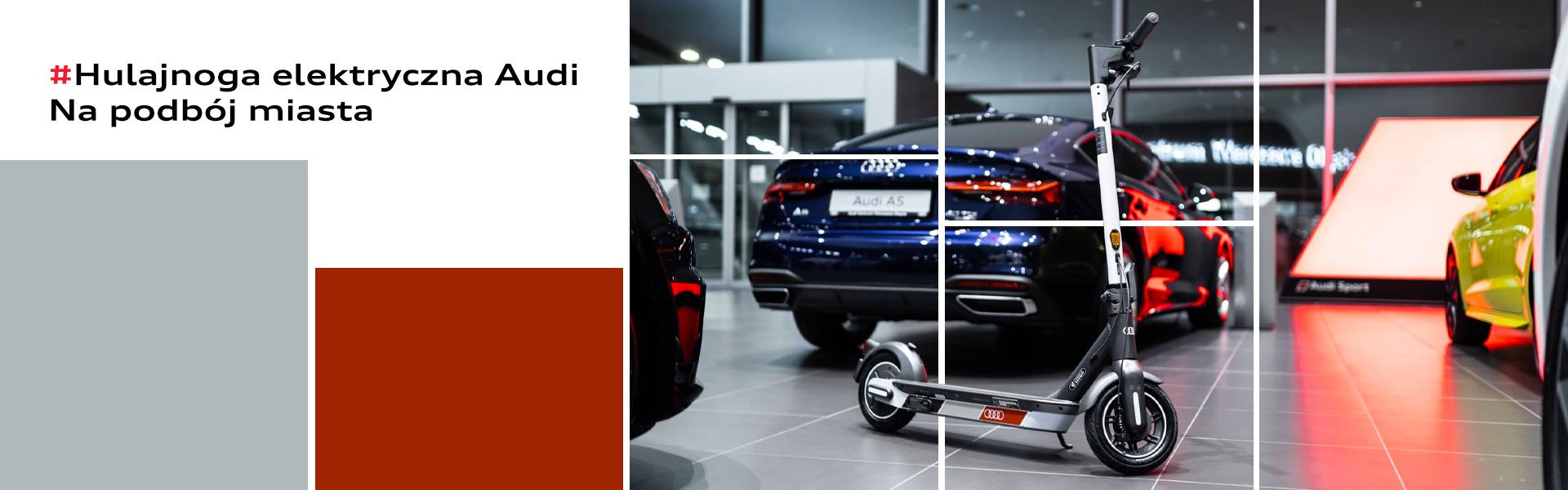Hulajnoga elektryczna Audi