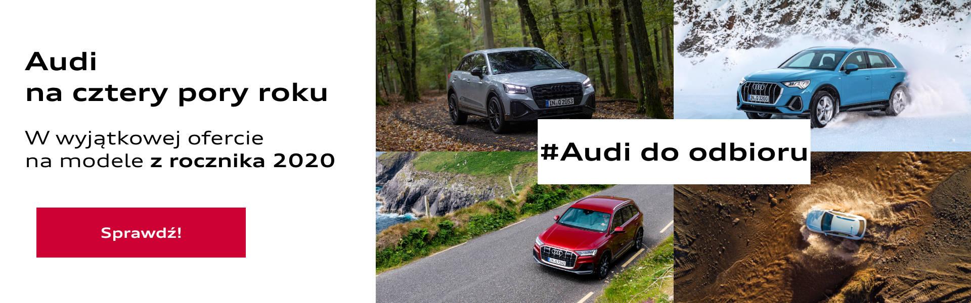Samochody dostępne od ręki Audi Kraków