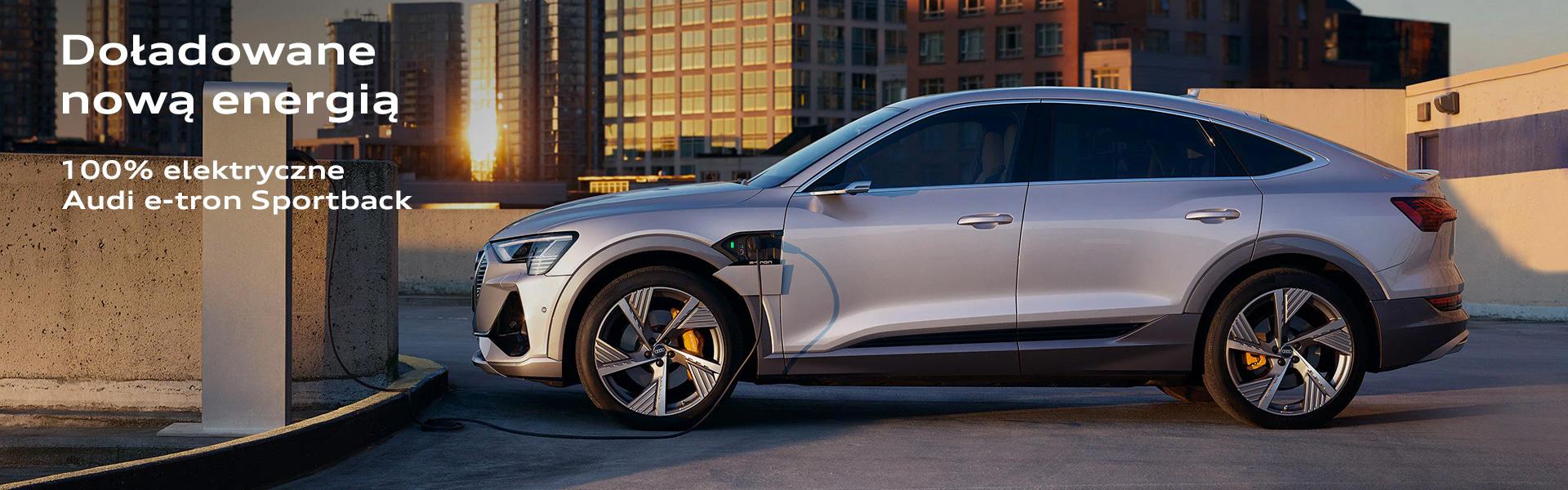 Nowe Audi etron